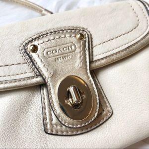 Coach Bags - Authentic Leather Coach Legacy Wristlet